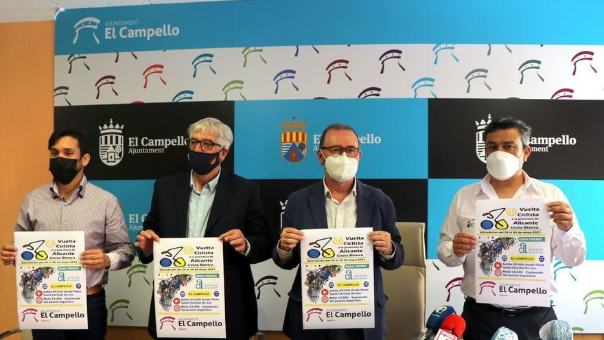 El Campello será salida y llegada de la última etapa de la Vuelta ciclista a Alicante y acogerá la entrega de premios