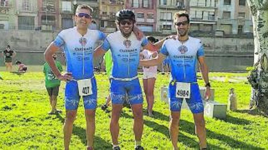 Dos triatletes de la PC Bonavista-Collbaix assoleixen la segona posició en el Campionat de Catalunya
