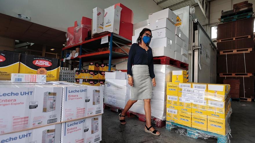 Reportaje en el Banco de Alimentos de Tenerife