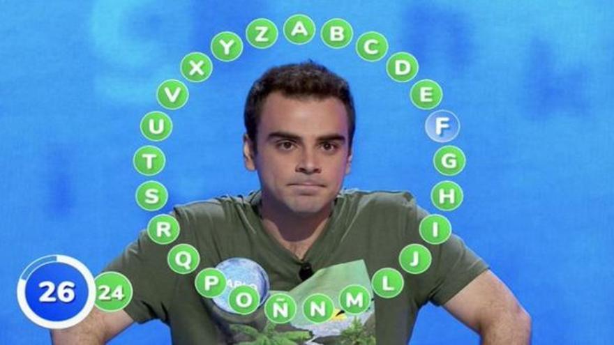 El canario Pablo Díaz, a punto de batir otro récord en 'Pasapalabra'