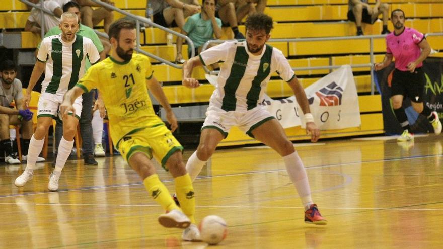 El Córdoba Futsal se desorienta ante el Jaén en la Copa Andalucía