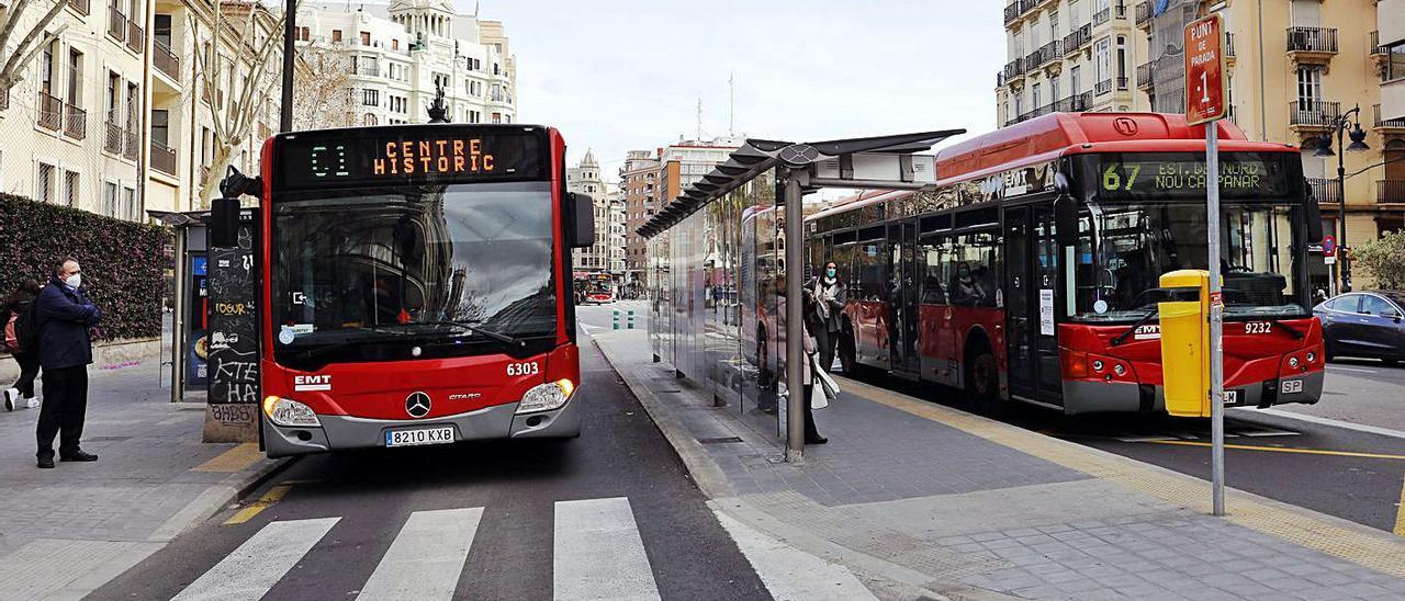 El intercambiador de la calle Xàtiva acapara todas las quejas de los vecinos. | M.A.MONTESINOS