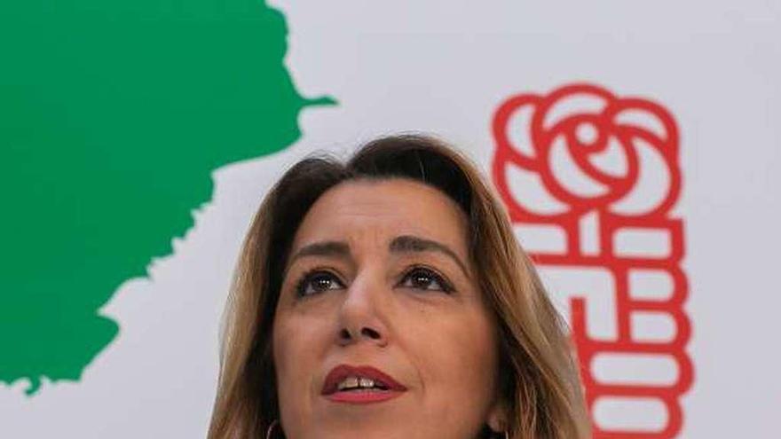 Díaz adelanta su intención de liderar al PSOE en las próximas elecciones andaluzas