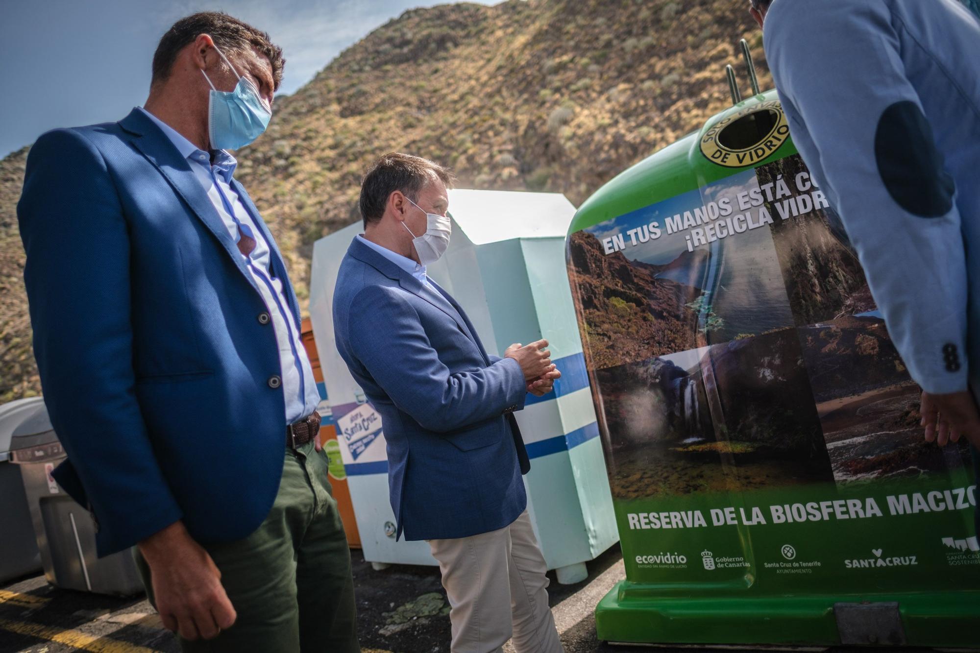 Presentación campaña de reciclaje de Santa Cruz de Tenerife