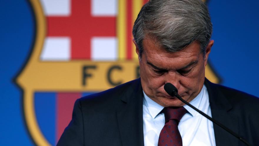 Laporta anuncia que el Barça presentará pérdidas de 487 millones de euros