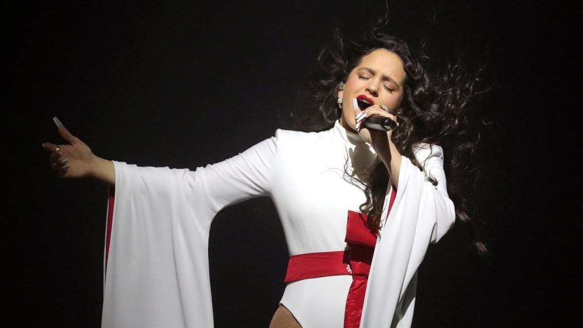 Rosalía, en una imagen de archivo.