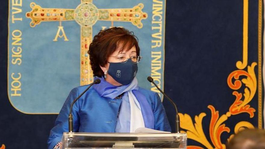 Discurso de Josefina Velasco Rozado, jefa del Servicio de Biblioteca de la Junta, en la celebración del 25 de mayo