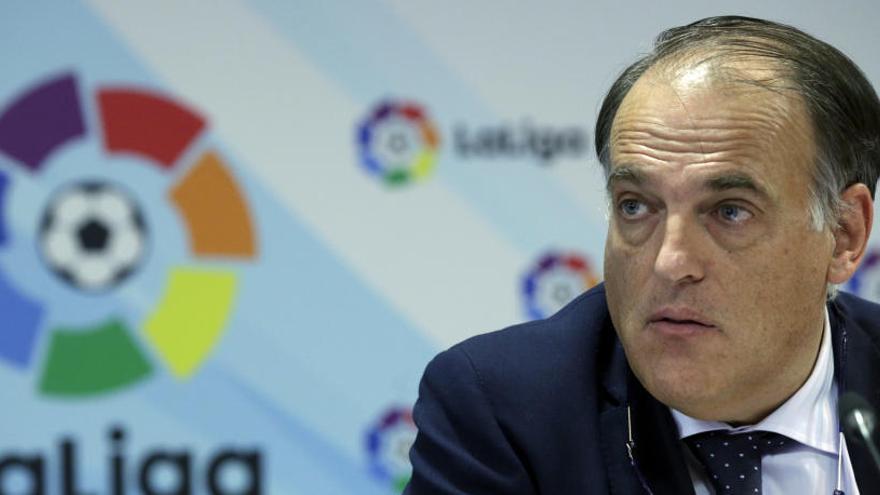 Tebas hablará de transparencia en el deporte en Murcia