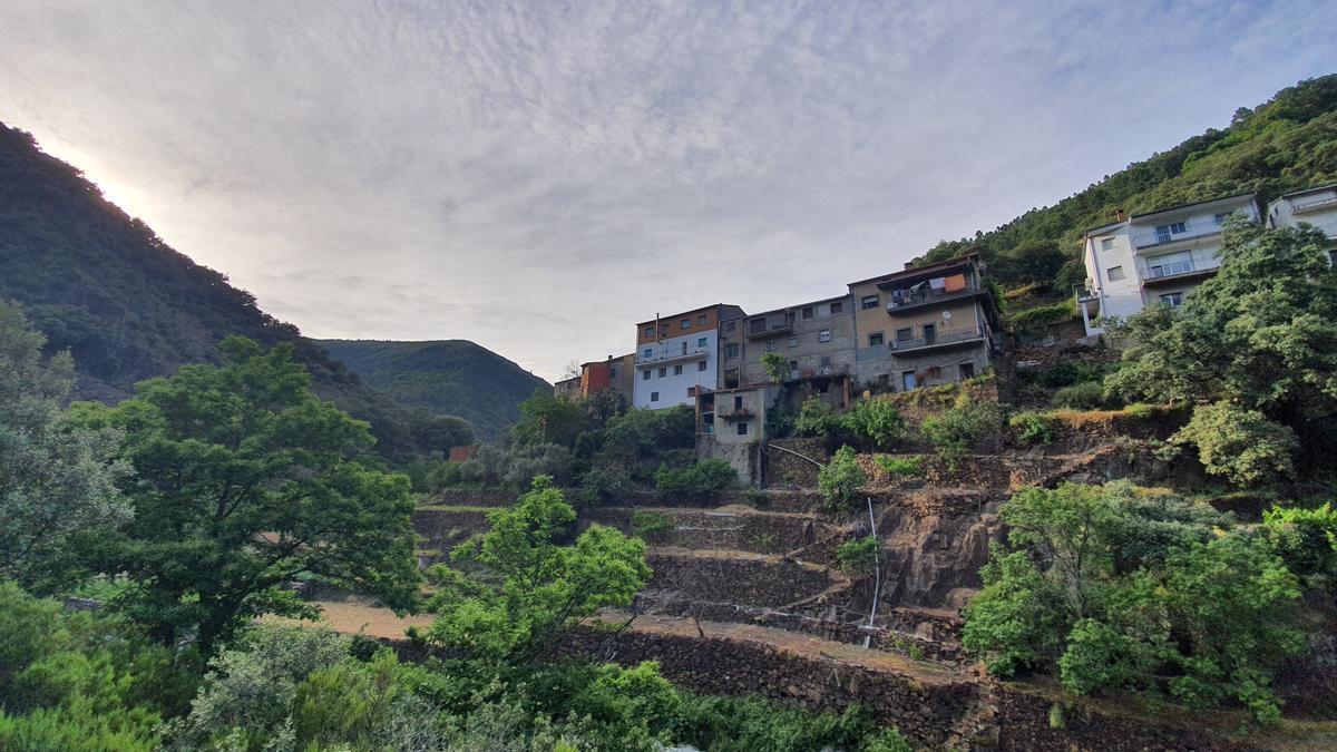 Una imagen de la bella localidad hurdana del Gasco.
