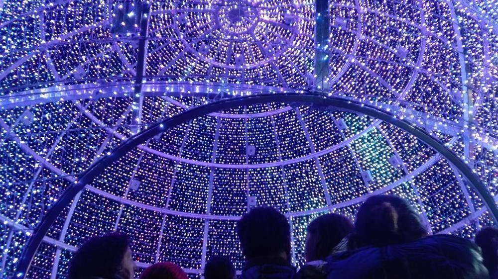 La Navidad arranca en Vigo con el encendido del alumbrado // R. G. / L. V. / C. P. / J. A.