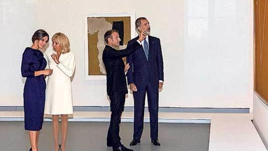 La buena conexión entre Brigitte Macron y la Reina Letizia