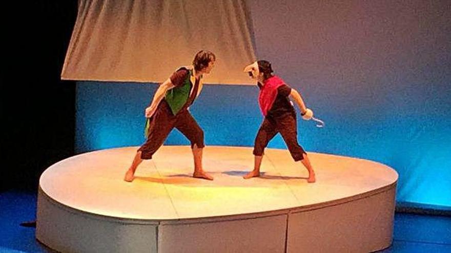 La historia de Peter Pan, el niño que nunca crece, enamora por enésima vez a los más pequeños