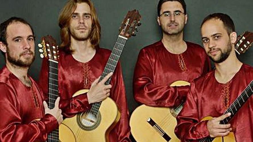 El quartet  Al-hambra apropa l'art del mestre Manuel Granados
