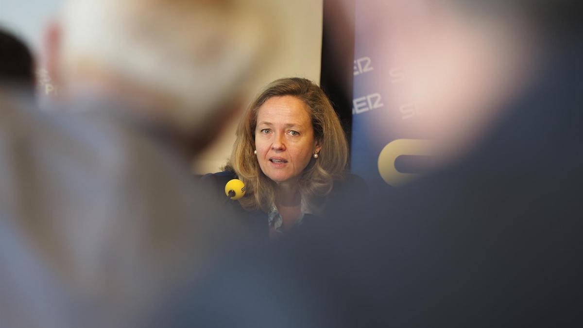 La ministra Nadia Calviño.