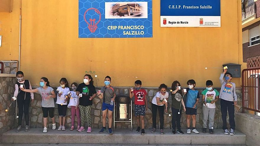 El CEIP Francisco Salzillo de Los Ramos se vuelca con el reciclaje y continúa ahorrando energía