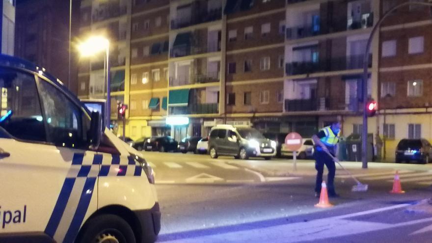 Un conductor arranca un semáforo en Zamora capital y se da a la fuga