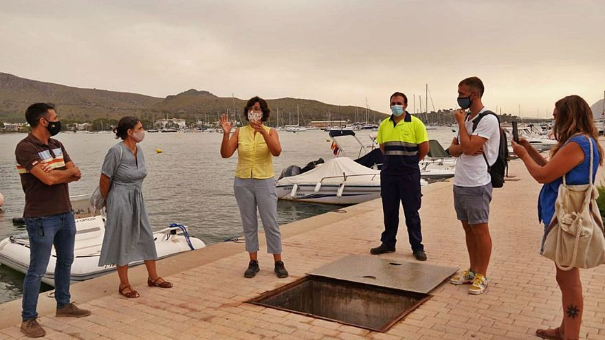 Abaqua detecta filtraciones de agua marina en el alcantarillado del Port de Pollença