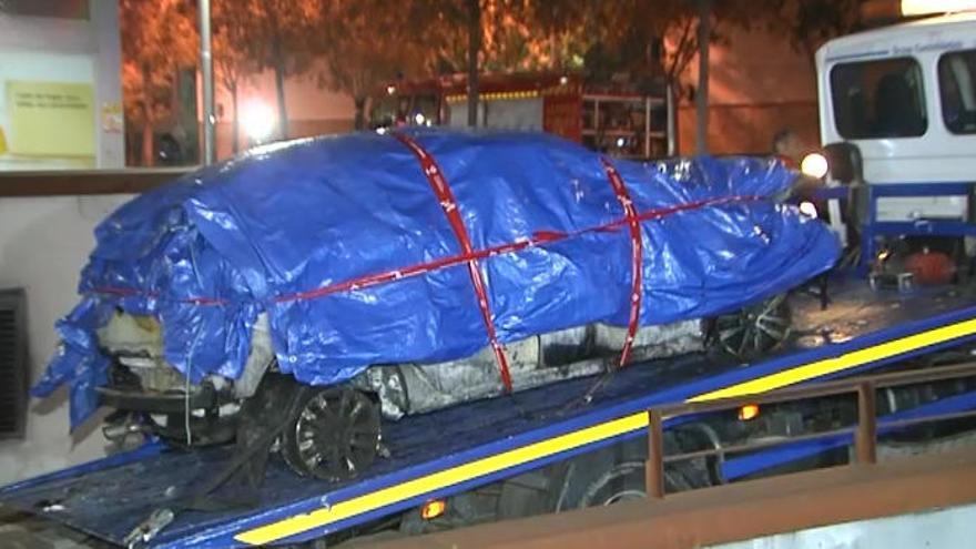 Muere un hombre tras la explosión de un coche bomba en Viladecans