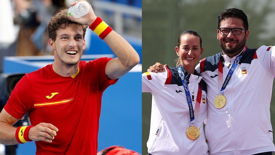 España esprinta en el medallero