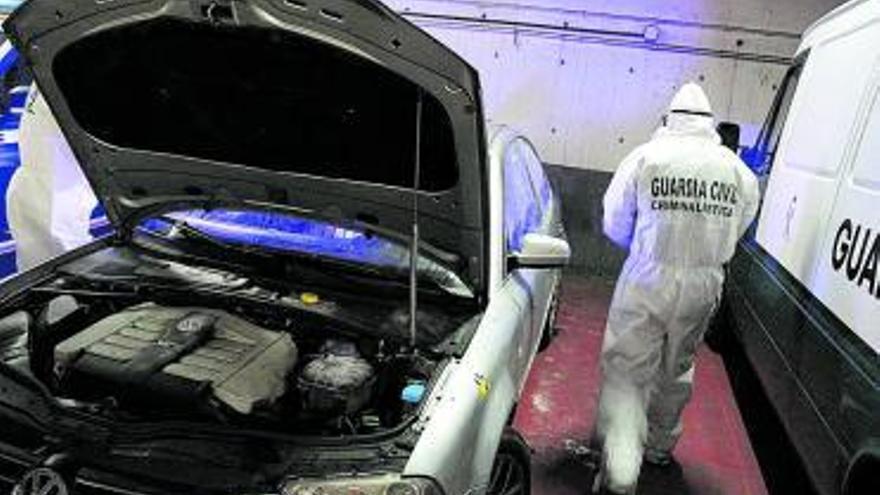 Cae una banda que cometió 38 asaltos a locales y robos de coches en Asturias y León