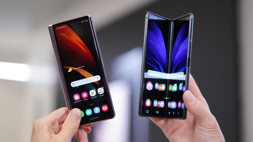 Samsung prepara una cámara 'invisible' para su próximo móvil plegable
