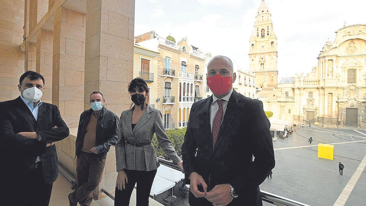 García Rex y los representantes del sector ultimaron el Plan de Acción Turístico Murcia 2021.