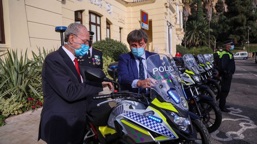 La Policía Local de Málaga renueva su flota con 32 motocicletas