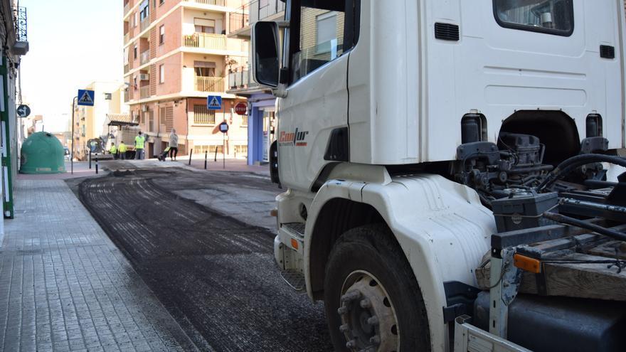 Burjassot renovará el asfaltado en tramos de más de veinte calles