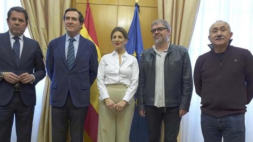Sánchez se verá en próximos días con los agentes sociales