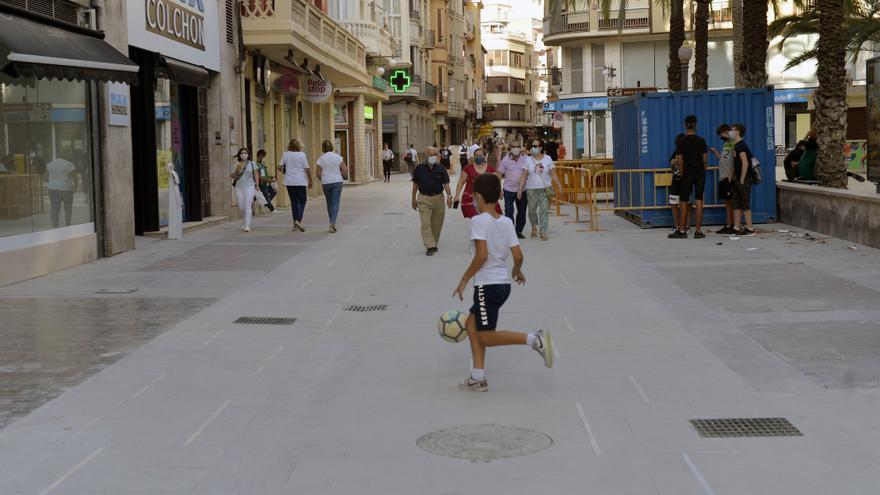 La hostelería se interesa por abrir terrazas en la Corredora cuando acaben las obras