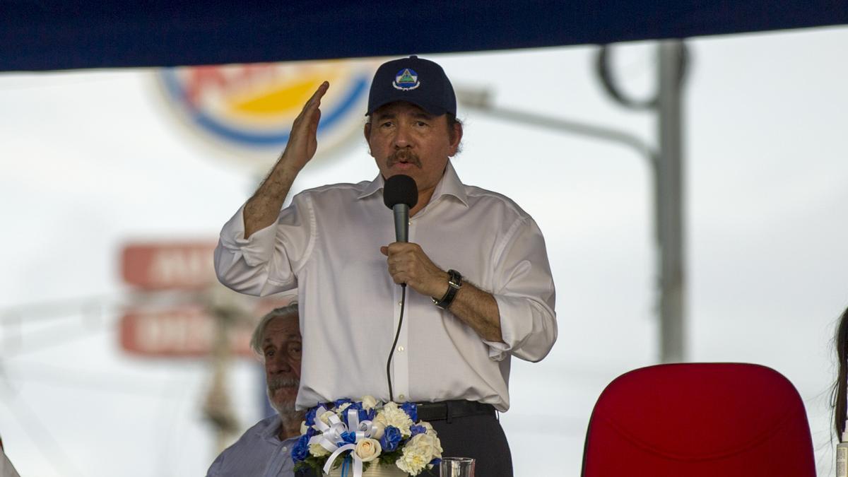 El presidente nicaragüense Daniel Ortega.
