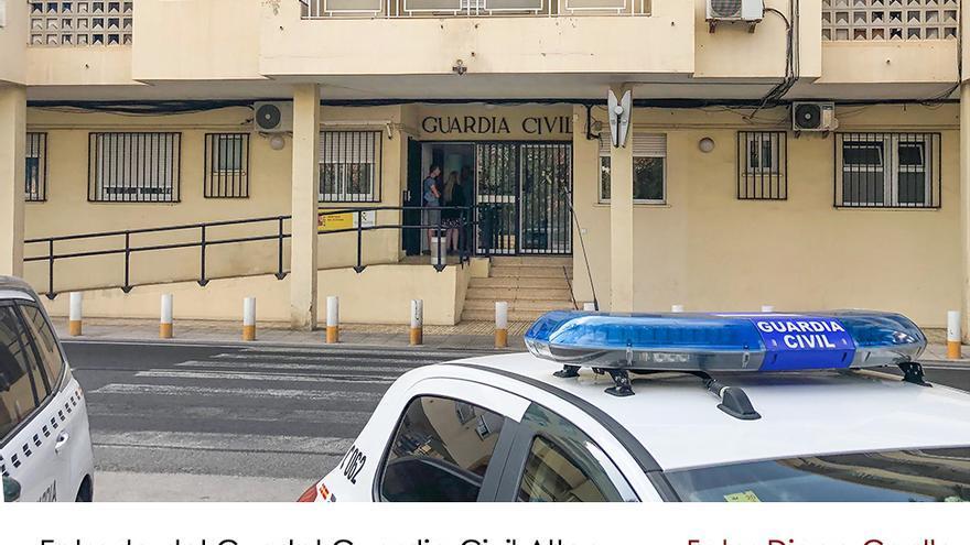 """El cuartel de la Guardia Civil de Altea tendrá una """"sala amable"""" para acoger a los menores de víctimas de violencia de género"""