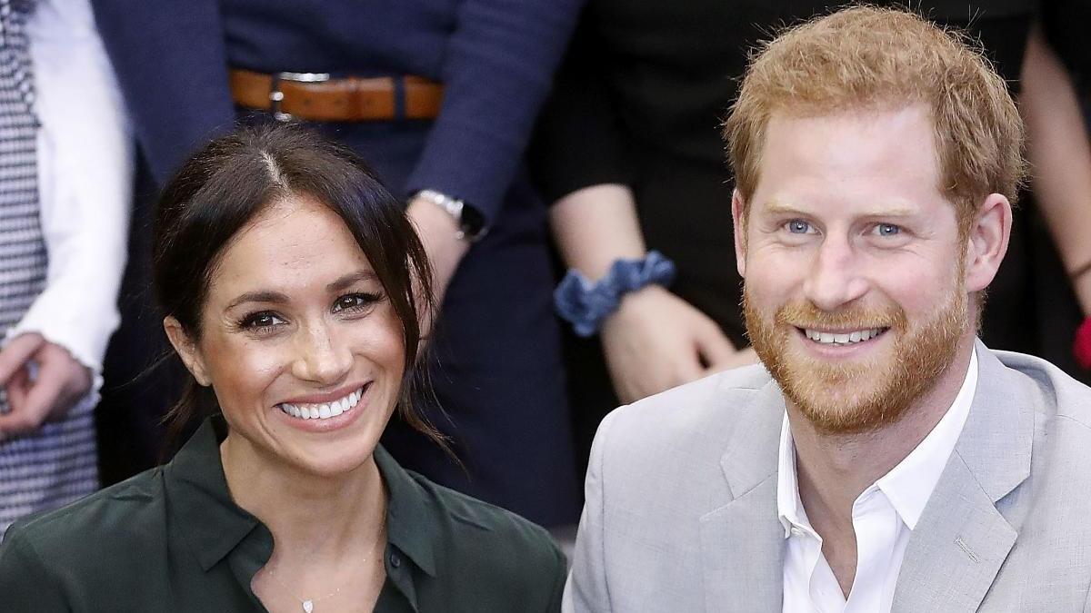 El príncipe Enrique y la duquesa de Sussex, Meghan Markle
