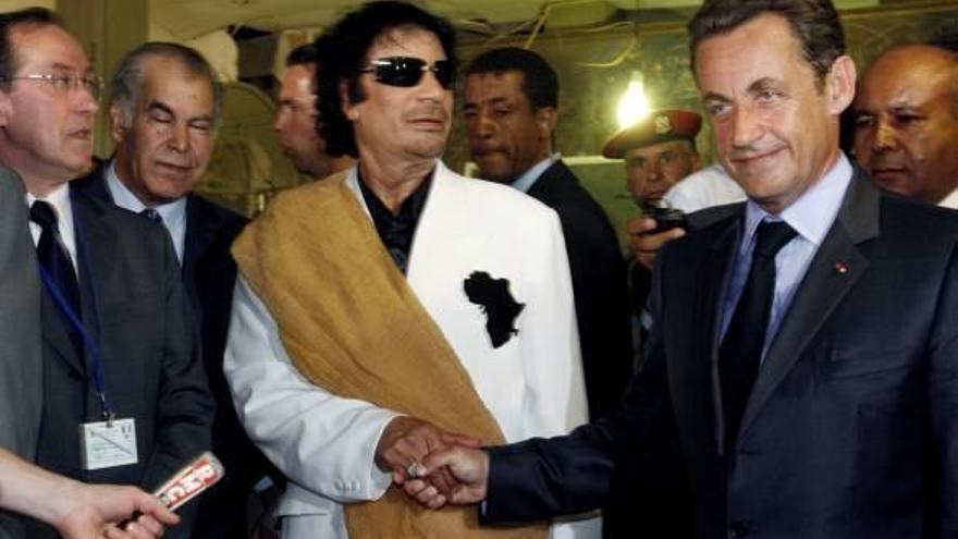 Nicolas Sarkozy, detingut per presumpte finançament il·legal de la seva campanya