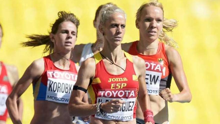 Natalia Rodríguez pasa a semifinales de 1.500 en Moscú