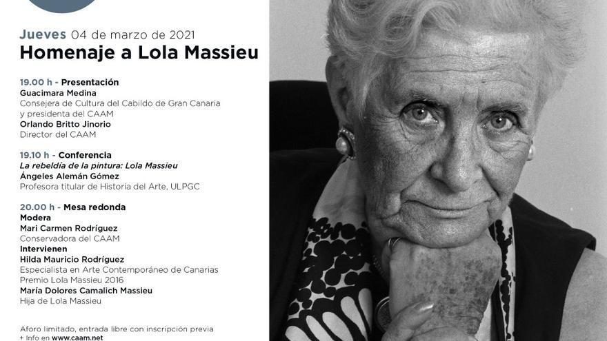 Homenaje a Lola Massieu