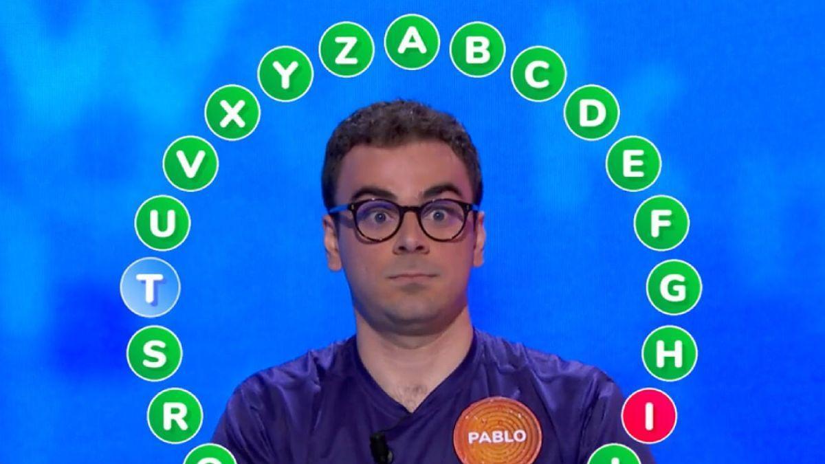 Pablo Díaz, de Pasapalabra, en directo: casi cada día comparte su secreto para mantenerse en el programa.