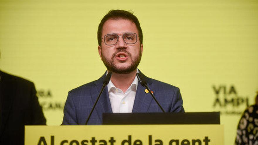Aragonès reitera que no compartirà Govern amb el PSC