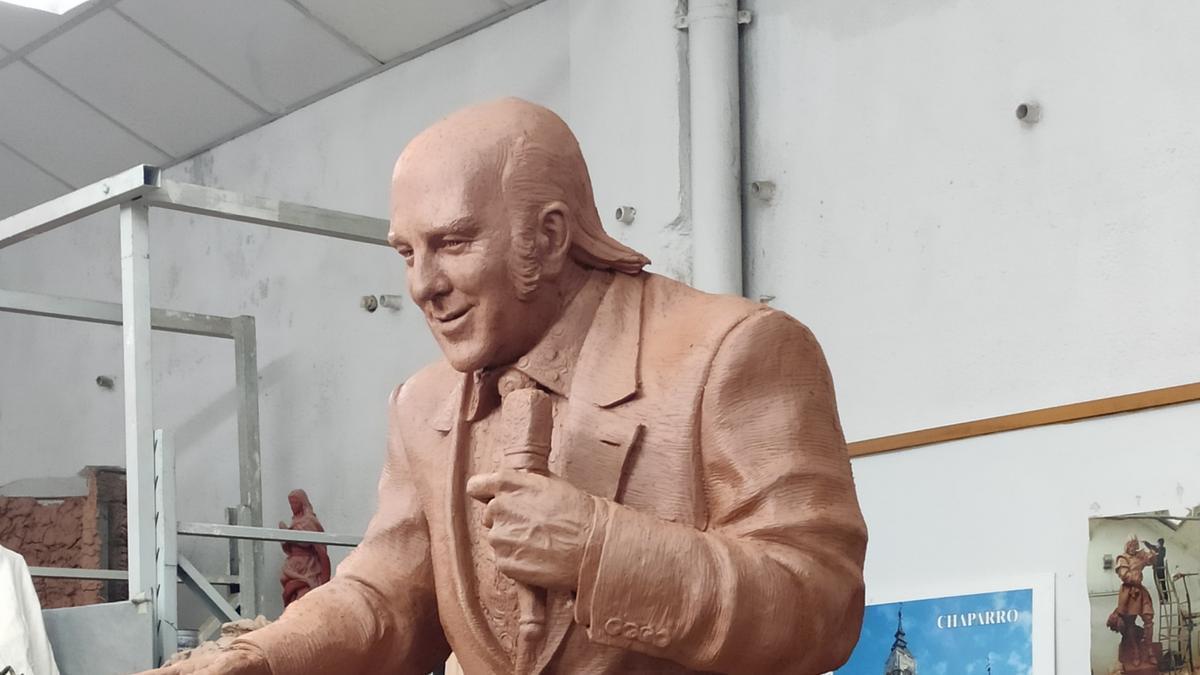 La estatua de Chiquito de la Calzada
