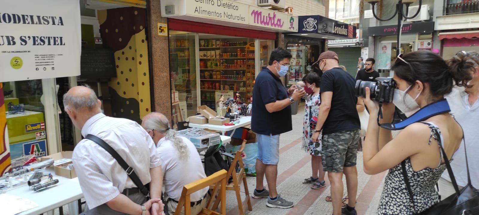 Maratón de modelismo en Palma