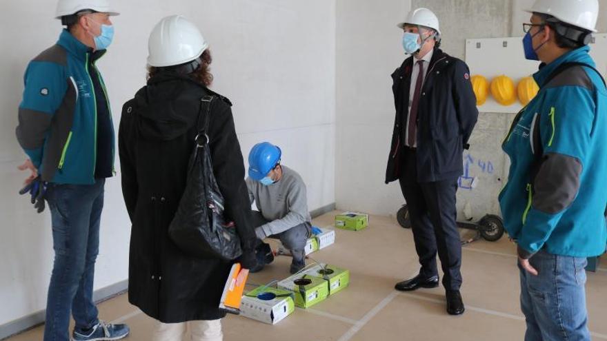 Los vecinos de La Fica ganarán un nuevo aulario de formación el próximo año