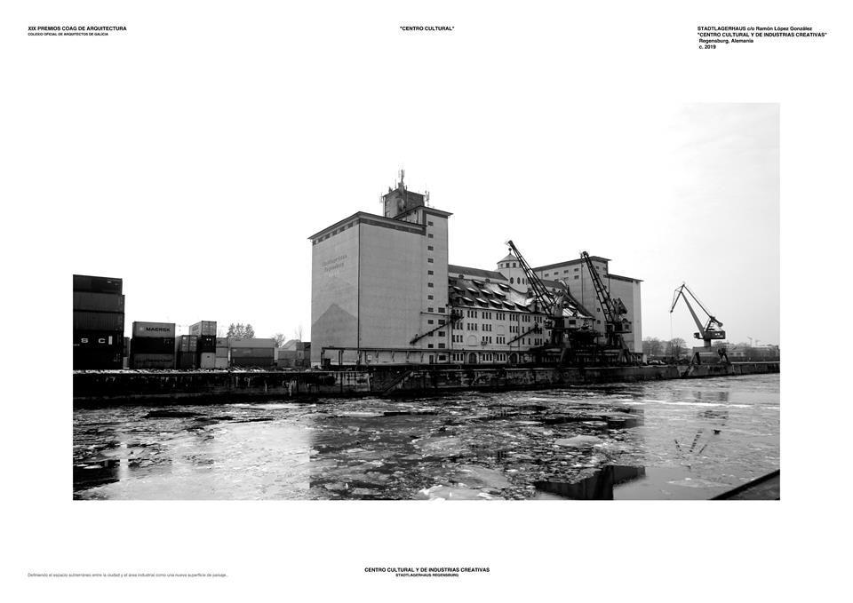 Categoría Proyecto Fin de Carrera. CENTRO CULTURAL Y DE INDUSTRIAS CREATIVAS STADTLAGERHAUS, Regensburgh, Alemania. Ram�n L�pez 1.jpg