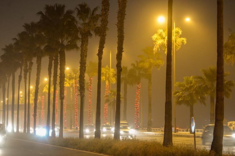Las Palmas de Gran Canaria. calima    22/02/2020   Fotógrafo: José Carlos Guerra