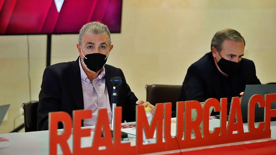 El Real Murcia, a la espera del nuevo plan