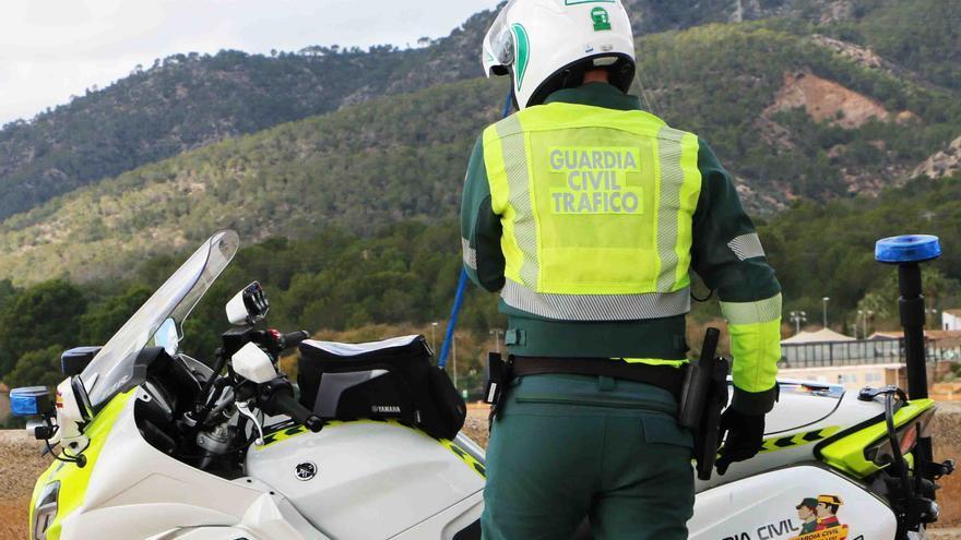 Detenido en Menorca un motorista ebrio y sin carné tras una peligrosa persecución
