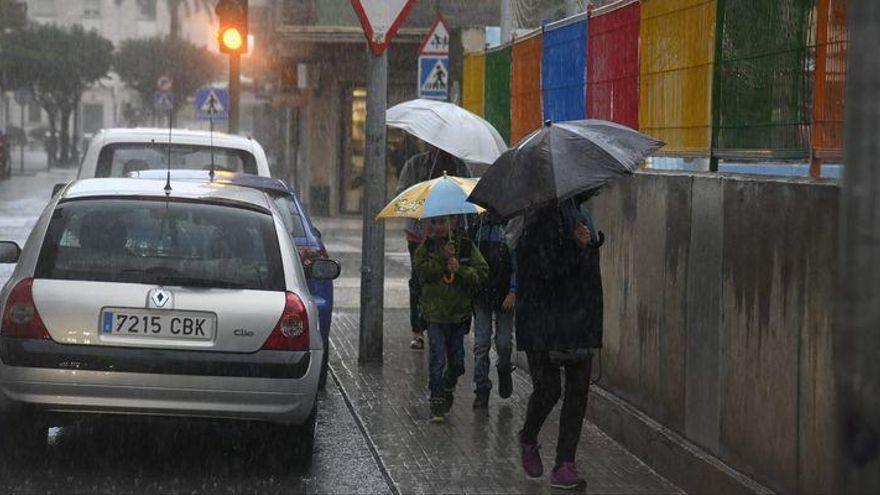 LLUVIA EN CASTELLÓN   ¿Hasta qué día habrá que llevar el paraguas?