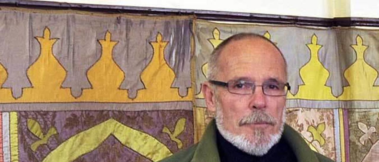 El periodista gijonés José Luis Navazo.