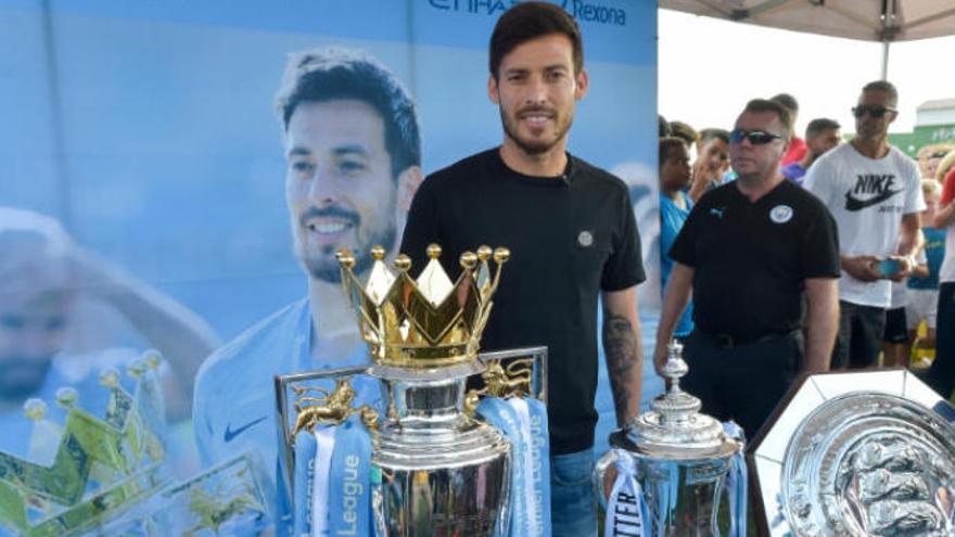 Beckham sigue encaprichado con David Silva