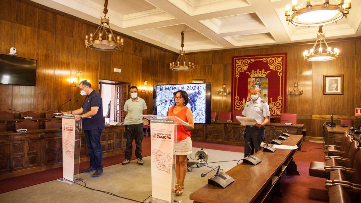 Presentación del programa cultural de La Mayuela en la Diputación de Zamora