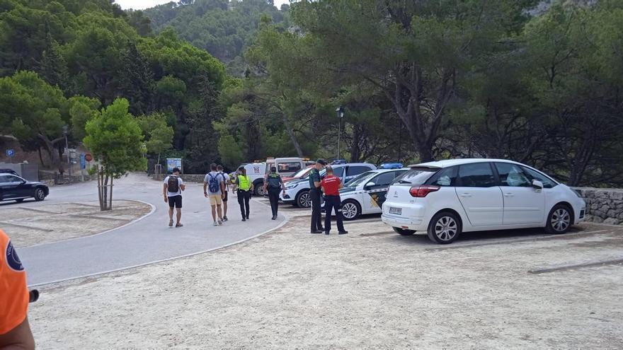 Intensa búsqueda en La Victòria de un turista desaparecido hace una semana